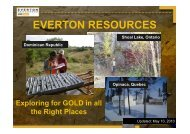 Everton Resources One2One Investor Presentation 11th May 2010