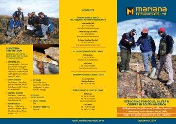 Mariana News Letter - Proactive Investors