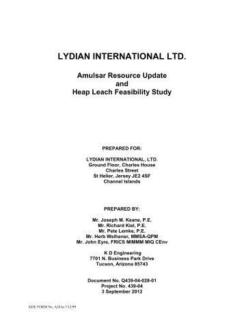 Amulsar Resource Update and Heap Leach ... - The Gold Report