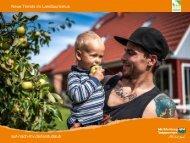 Erfahrungen und Entwicklung im Landtourismus am ... - pro agro eV