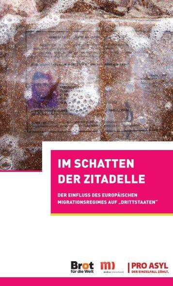 """""""Im Schatten der Zitadelle"""" als PDF - Pro Asyl"""