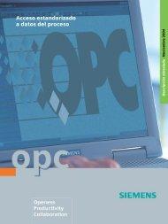OPC - Acceso estandarizado a datos del proceso