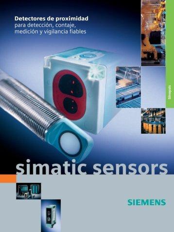 Detectores de proximidad para detección, contaje, medición y ...