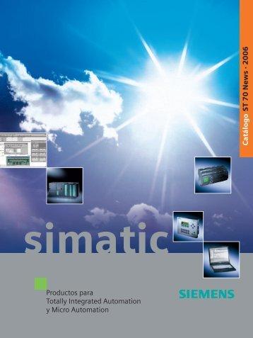 catalogo general simatic plc's s7 - Proyectos de Automatizacion y ...