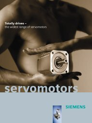 Totally drives – the widest range of servomotors