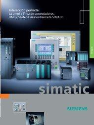 Interacción perfecta - la amplia línea de controladores, HMI y ...