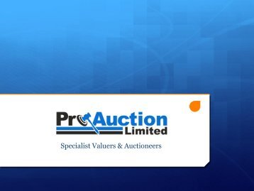 Download this form - Pro Auction