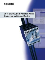 3UF5 SIMOCODE-DP System Motor Protection and Control Device