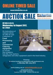 ONLINE TImEd SALE - Pro Auction