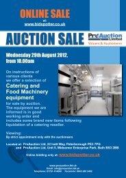 ONLINE SALE - Pro Auction