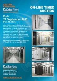 Auction Sale Catalogue - Pro Auction