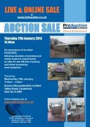 LIVE & ONLINE SALE - Pro Auction