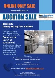 ONLINE ONLy SALE - Pro Auction