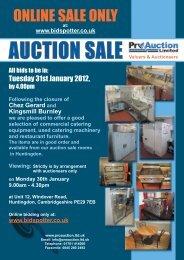 ONLINE SALE ONLY - Pro Auction