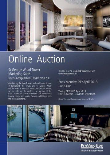 Auction Catalogue - Pro Auction