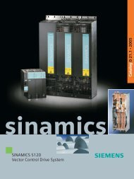 SINAMICS S120 Vector Control Drive System
