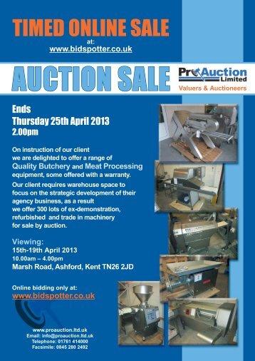 Catalogue - Pro Auction