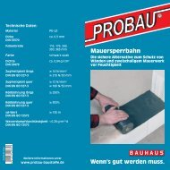 PDF Download - Probau Baustoffe