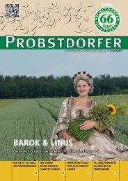 Die neue Ausgabe der Kundenzeitung! > mehr - Probstdorfer ...