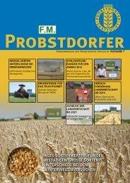 Kundenzeitung Probstdorfer Ausgabe 7 - Probstdorfer Saatzucht