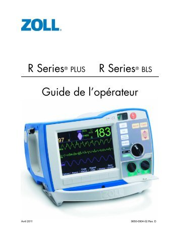 R Series® PLUS R Series® BLS Guide de l'opérateur - Procamed AG