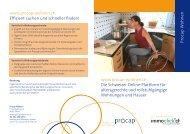 Flyer als pdf - Procap
