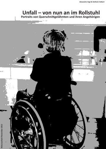Unfall – von nun an im Rollstuhl - Schweizer Paraplegiker ...