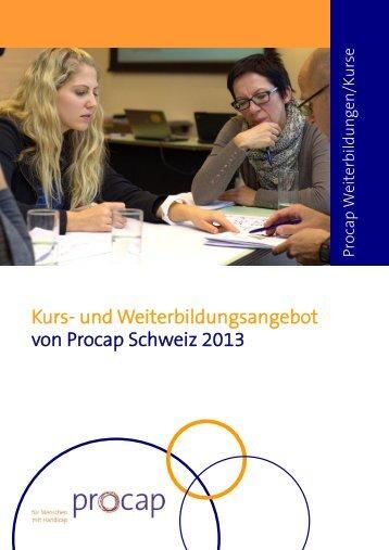 Bildungsprogramm als PDF zum Download - Procap