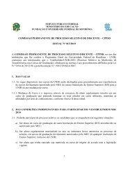 Edital 13-2010 Vestibulinho UNIR - Portal de Processos Seletivos ...