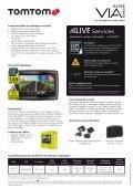 Gamme TomTom Via LIVE - La navigation sans souci - Page 2
