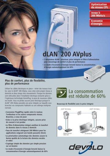 dLAN® 200 AVplus - Cobrason