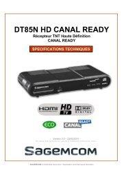 DT85N HD CANAL READY - PRO et Cie