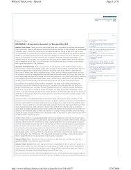 Page 1 of 13 HillaryClinton.com - Speech 2/28/2008 http://www ...