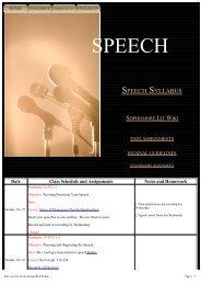 Speech Syllabus - ProCon.org