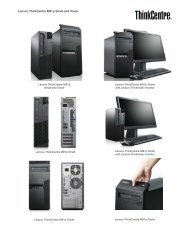 Lenovo ThinkCentre M91p Small and Tower - PROconsult Data A/S