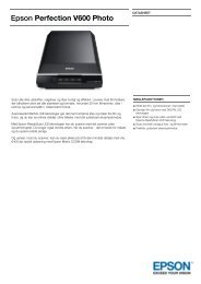 Epson Perfection V600 Photo - PROconsult Data A/S