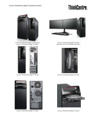 Lenovo ThinkCentre Edge 72 Small and Tower - PROconsult Data A/S