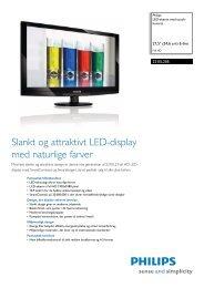 221EL2SB/00 Philips LED-skærm med touch-kontrol - PROconsult ...
