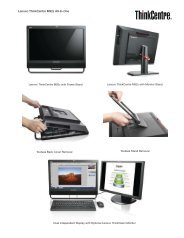 Lenovo ThinkCentre M92z All-In-One - PROconsult Data A/S