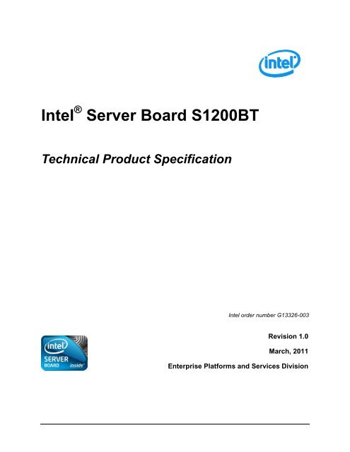 Intel S5520HCT Server Board Drivers for Windows 7
