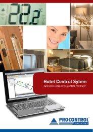 Hotel Control System leírás - Procontrol Electronics Kft.