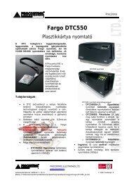 DTC 550 - Procontrol Electronics Kft.