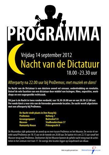 Programmaboekje Nacht 14 september 2012 web.pdf - Prodemos