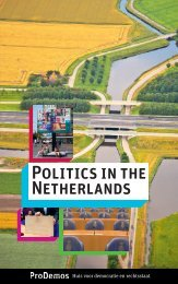 Politics in the Netherlands - Prodemos