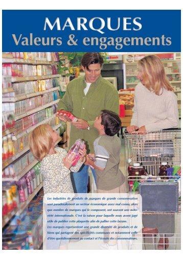 Marques : valeurs et engagements - Prodimarques