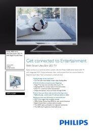24PFL4228K/12 Philips Ultra Slim Smart LED TV with ... - Prodimex