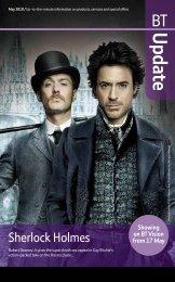 Sherlock Holmes - Great value broadband, phone, digital TV and ...