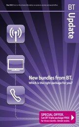 New bundles from BT. - Great value broadband, phone, digital TV ...