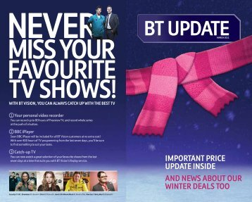 Bt upDate - Great value broadband, phone, digital TV and mobile ...