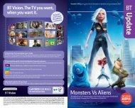 Monsters Vs Aliens - Great value broadband, phone, digital TV and ...